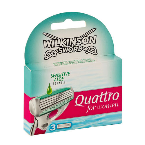 Wilkinson Quattro for Women Sensitive Klingen (3 St?ck)