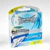 Wilkinson Quattro Hydro 3 system blades (8 pc pack)